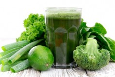 Green juice to cleanse the body