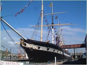 Exploring Brunels SS Great Britain