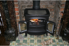 Why the allure of the log burning stove is still strong