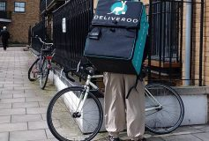 Deliveroo jackets become cult fashion items
