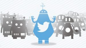 15% of Twitter users are bots according to a study, and they like to interact with each other