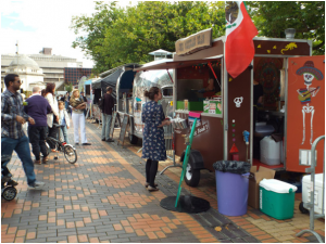 Expert panel discusses the success of street food