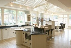 Get your new kitchen and add a conservatory