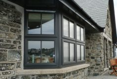 What are the benefits of double-glazed windows?