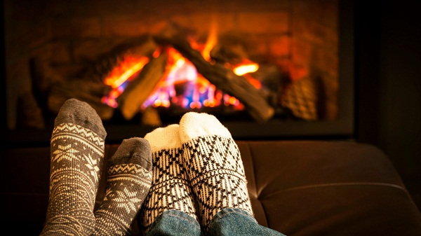 home warm in winter