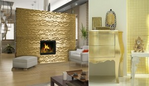 Decorate with gold