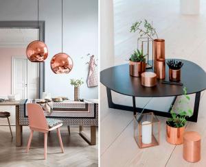 Copper decoration