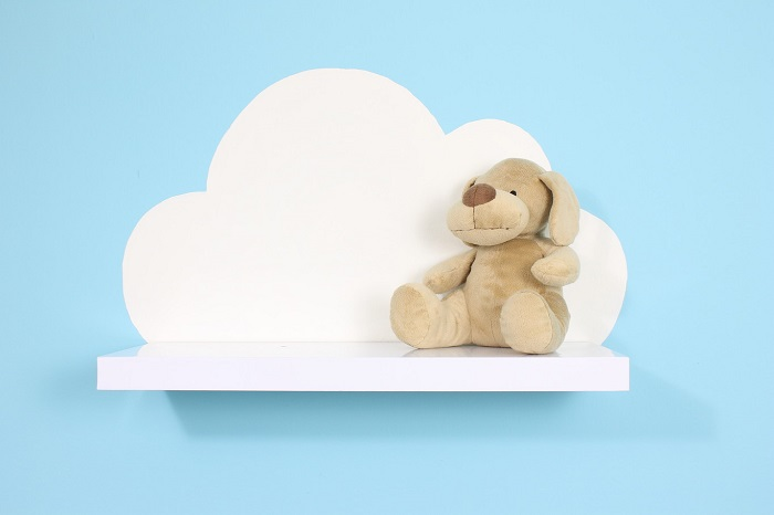 Do It Yourself a shelf in the form of a cloud step by step
