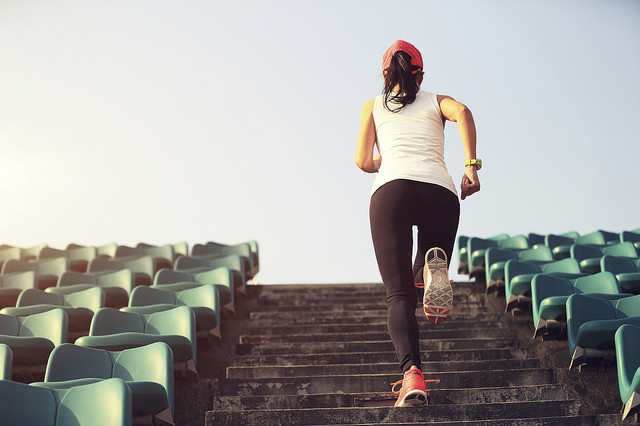 HIIT on Stairs Work your lower train with these trainings