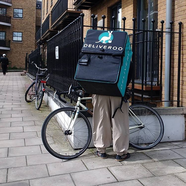 Deliveroo jackets become cult fashion items 2