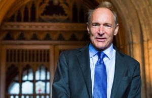 The father of the World Wide Web believes that Facebook and Google should lead the fight against false news