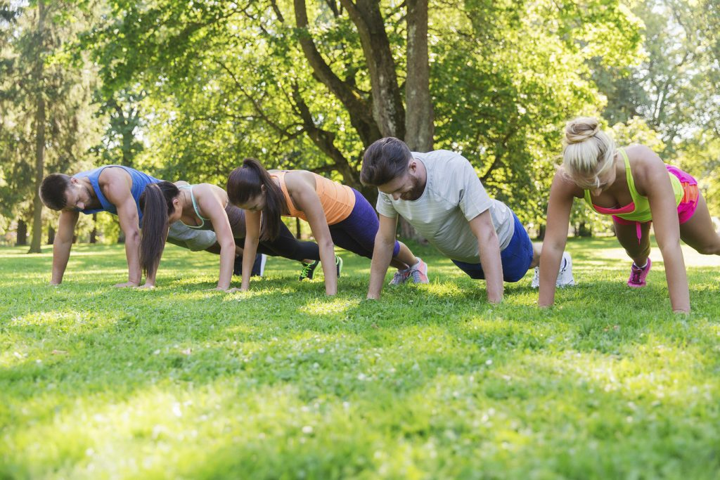 Training to gain muscle outside the gym How to train in the park