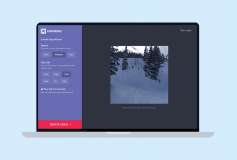 Kapwing, convert your videos in stop motion easy, free and fast from the web