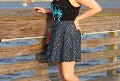 How to style a skater dress