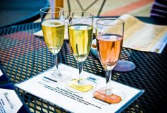 Sparkling wine sales fall